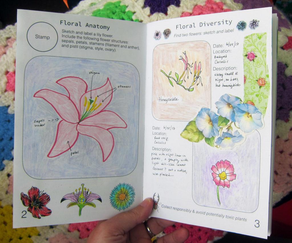 Biology Journal Flowers