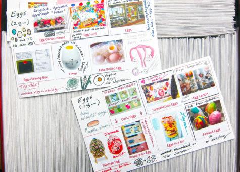 Egg Assemblage Cards